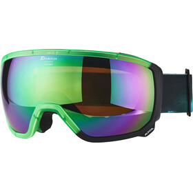 Alpina Scarabeo MM S3 Goggle emerald spherical/transparent green-black